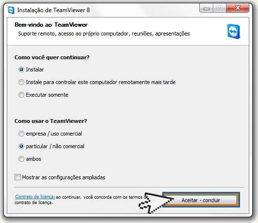 Instalando TeamViewer