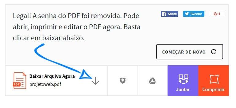 Como desbloquear e imprimir pdf bloqueado