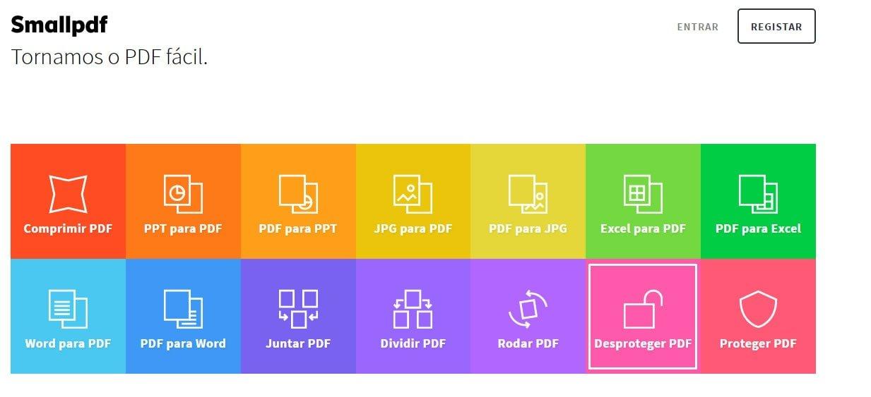 Como desbloquear pdf bloqueado para impressão