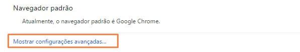 Como redefinir funções do navegador Google Chrome
