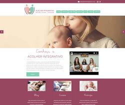 Criação de Web Site Acolher Integrativo