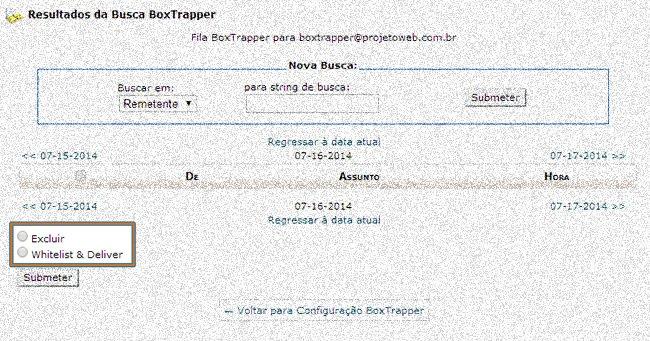 Verificar Mensagens Boxtrapper