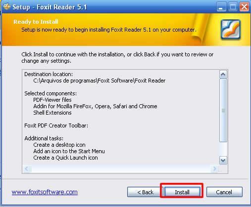 Abrir um PDF - Foxit Reader