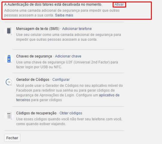 Como usar aprovação de Login do Facebook