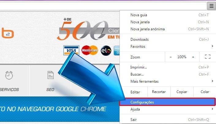 Desativar preenchimento automático do Google Chrome
