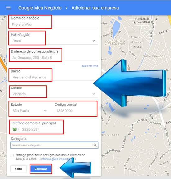 Cadastro Negócios do Google, Divulgue sua Empresa no Google