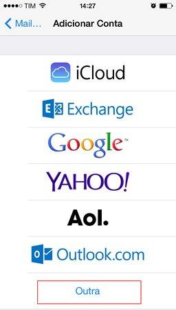 Configurar E-mail Ipad