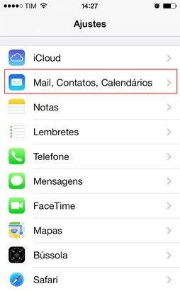 Configurar E-mail Iphone