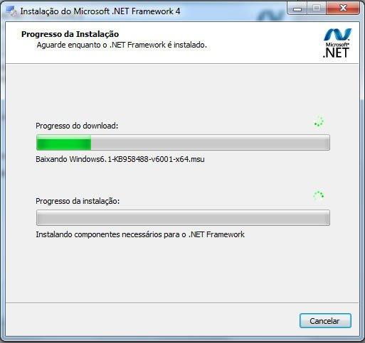 Instalar Net Framework 4