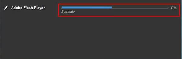 Instalação do Adobe Flash Player