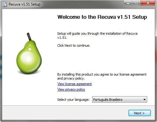 Download Software de Recuperação de Dados Excluidos