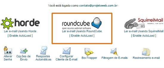 Como limpar a caixa de entrada do Webmail