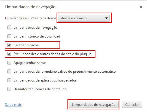 Como Limpar Cookies do Google Chrome