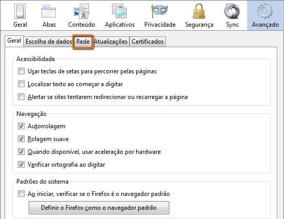 Como Limpar Cookies do Navegador Firefox