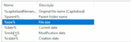 Renomear vários arquivos juntos