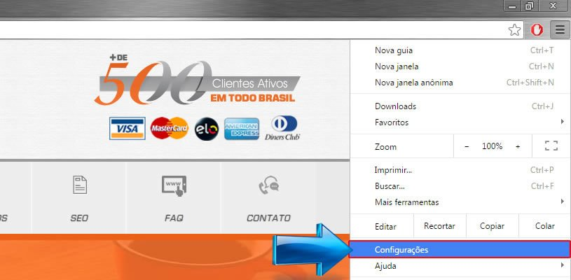 Como Ver as Senhas Gravadas no Navegador Google Chrome