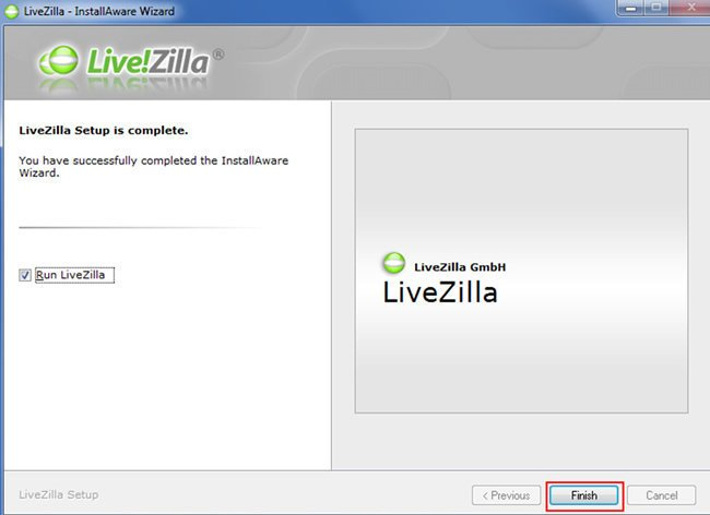 Chat Online no Livezilla
