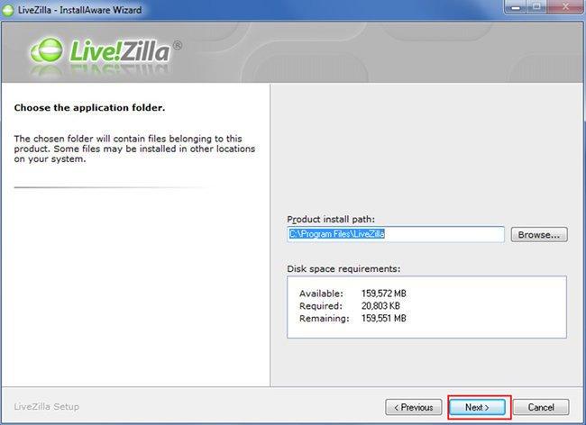 Configurar Chat no LiveZilla