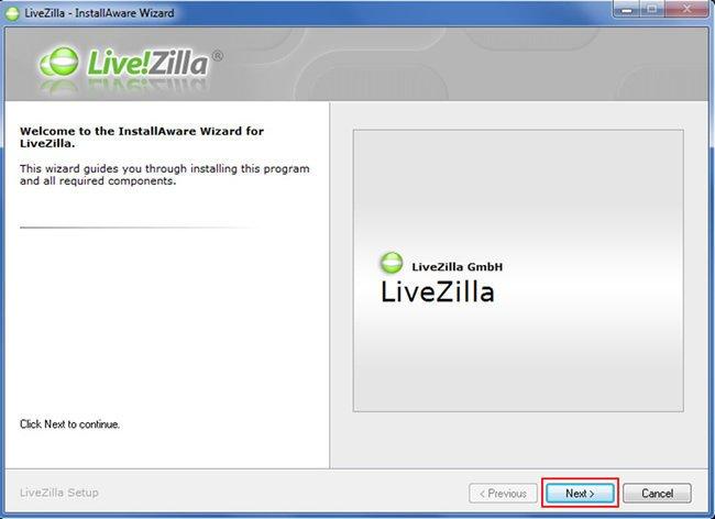 Configurar Chat Online no LiveZilla