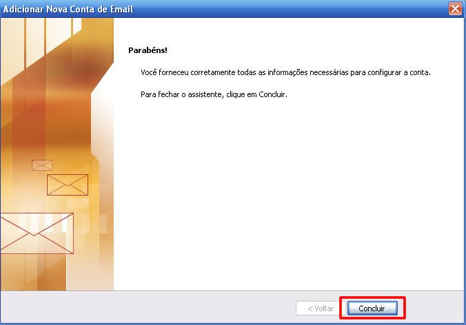 Visualizar email no Microsoft Outlook 2010