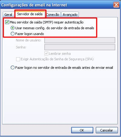 Conta Email Outlook 2010